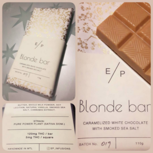 EP Infusions Blonde Bar THC 120mg