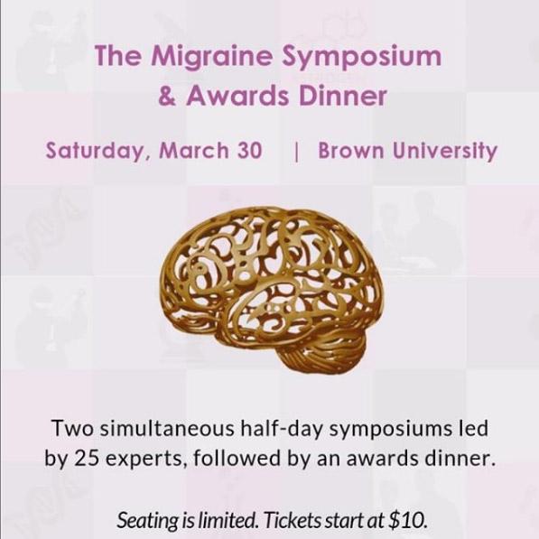 Migraine Symposium and Awards Dinner, Brown University